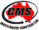 cms underground construction logo